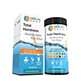 HealthSnap Total Water Hardness Test Strips - 100 Count - Rapidly Test Total Hardness (TDS) Levels in Drinking Water, Ground Water, Tap Water, Pools, Spas, and Aquariums - Results Within 60 Seconds
