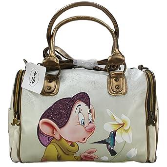 687b74b9e9145 Disney Seppl von de 7 Zwergen Sieben Zwerge Damen Umhängetasche Groß  Handtasche Damenhandtaschen Tasche Schultertasche Beige