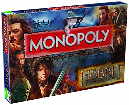 Winning Moves - 332409 - Jeu Monopoly - The Hobbit 2 - Desolation Of Smaug