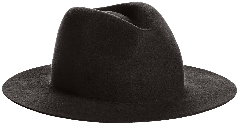 Amazon.co.jp: (レイビームス) Ray BEAMS RBS / 中折れ フェルトハット 61410197284 19 BLACK ONE SIZE: 服&ファッション小物通販