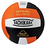 Tachikara Sensi-Tec Composite High Performance Volleyball (Orange/White/Black)