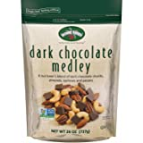 Second Nature Dark Chocolate Medley Trail Mix 26 oz Resealable Pouch - A Nut Lover's Blend of Dark Chocolate Chunks, Almonds, Cashews and Pecans - Non GMO Project Verified (Tamaño: 26 Ounce Resealable Bag)