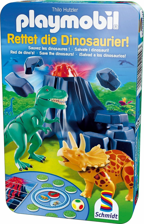 Schmidt Spiele 51229 – Playmobil, Rettet die Dinosaurier! günstig online kaufen