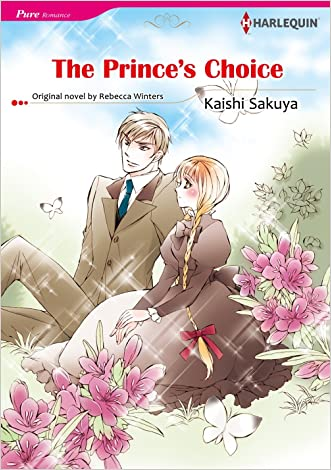 THE PRINCE'S CHOICE (Harlequin comics) written by Rebecca Winters
