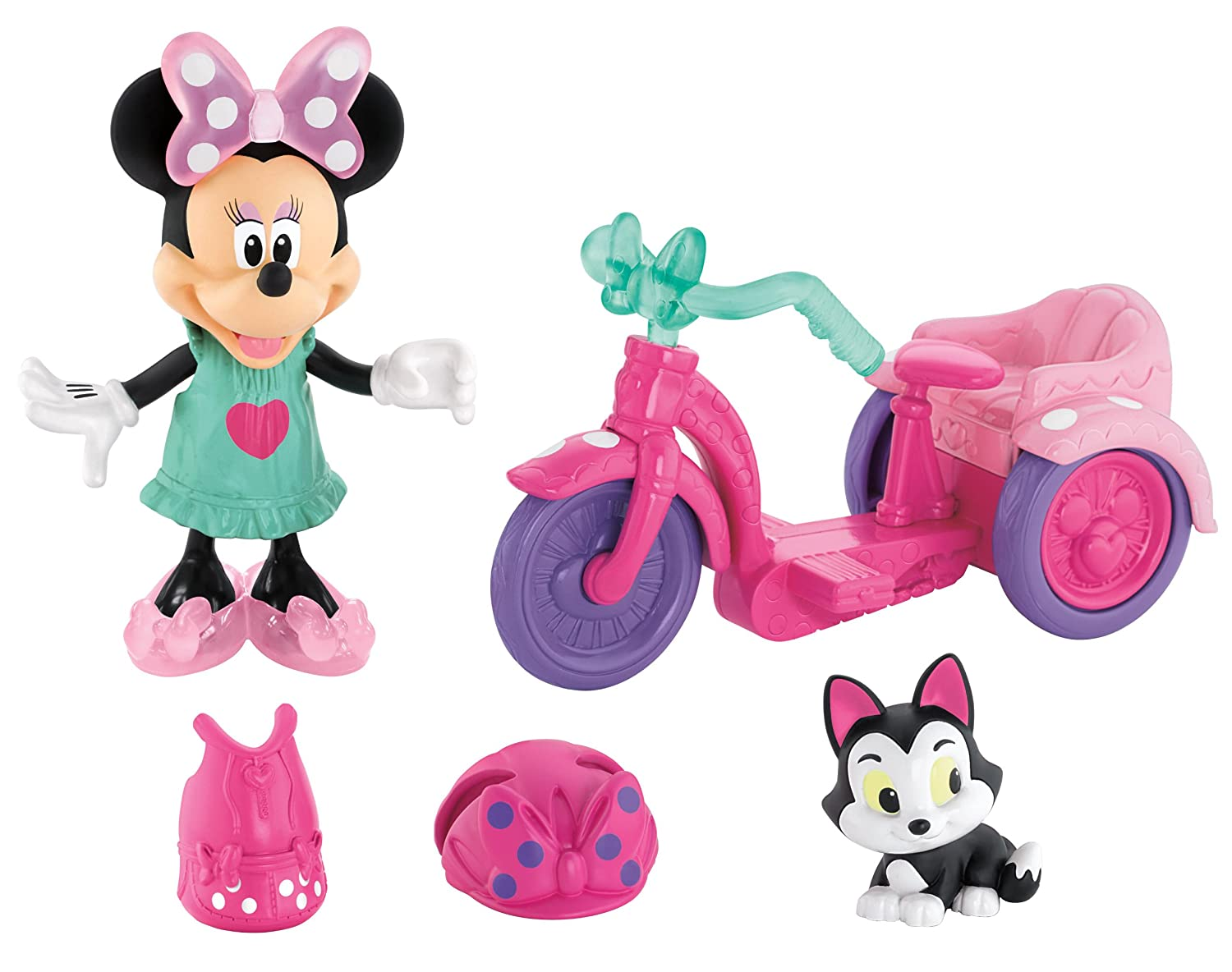 Minnie Mouse Bike Ride Picnic Playset