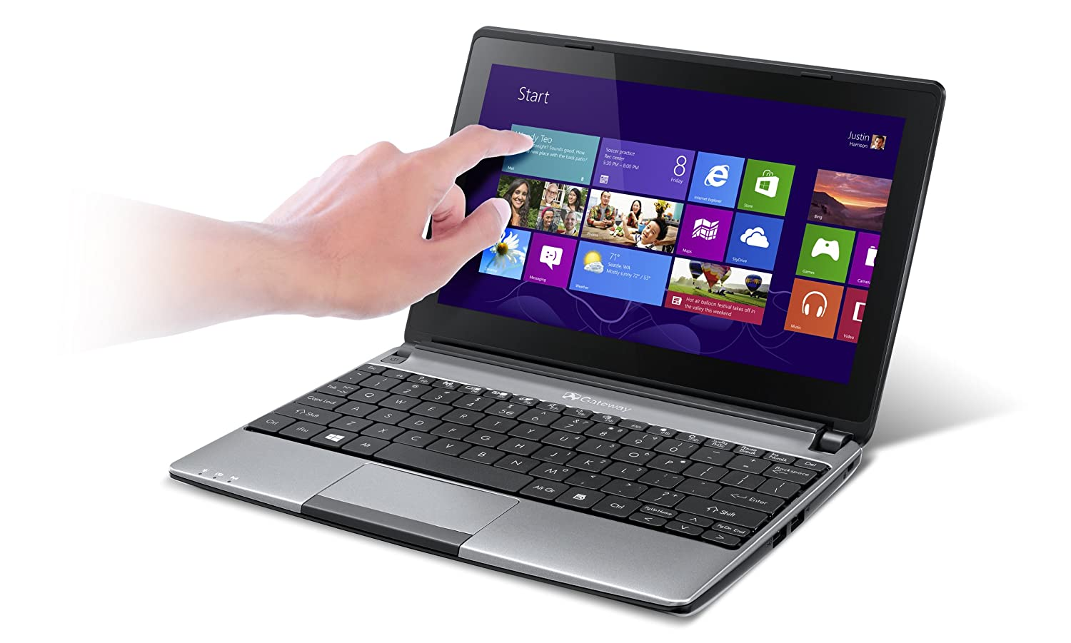 Gateway LT41P04u 10.1-Inch Touchscreen Laptop