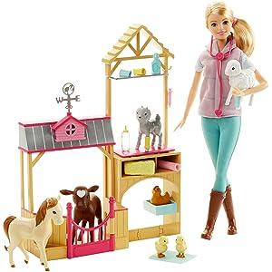 Barbie Farm Veternarian Doll & Playset