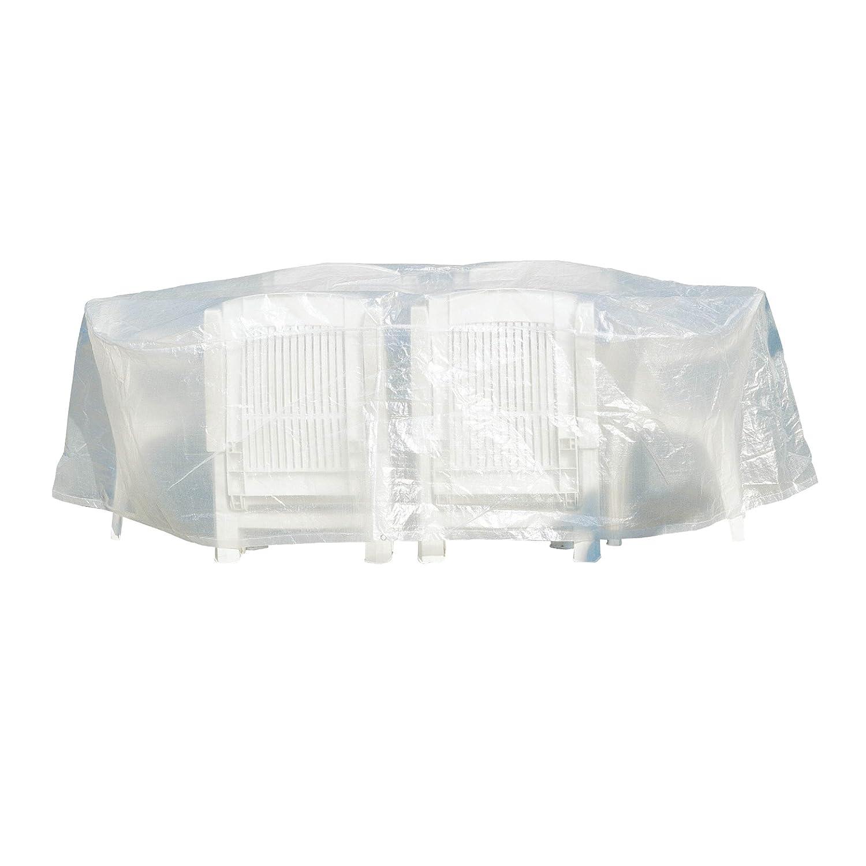 Greemotion Schutzhülle für Sitzgruppe wasserabweisen mit Ösen, Transparent, 0,1×0,1x200cm online bestellen