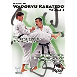 Traditional Wadoryu Karate-Do Volume 3: Kumite and More