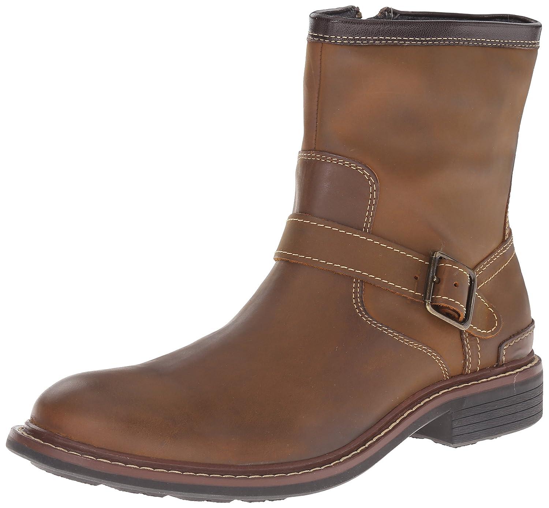 Cole Haan Men's Bryce Zip Winter Boot, Partridge, 9.5 M US
