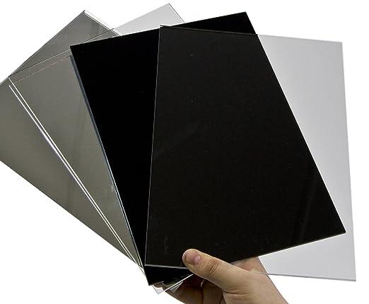 Acryl spiegel plexiglas spiegel 3mm xt 25 x 25 cm for Fliesenspiegel acryl