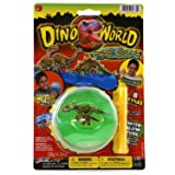 Dino World Dino Ooze Dinosaur Slime Inflatable Blue or Green Gooey Slime Putty 8 Different Styles to Collect (1 Random Assorted Pack)