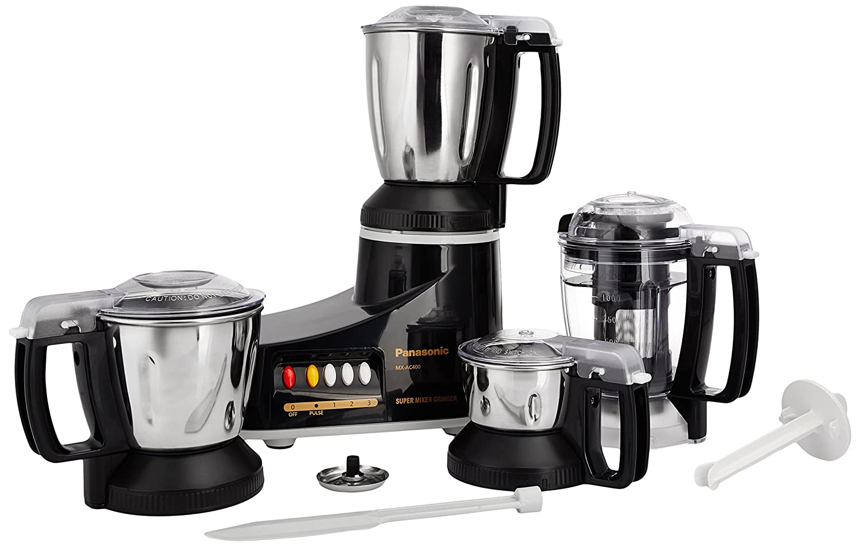 Panasonic Kitchen Appliances Buy Panasonic Mx Ac400 550 Watt 4 Jar Super Mixer Grinder Color