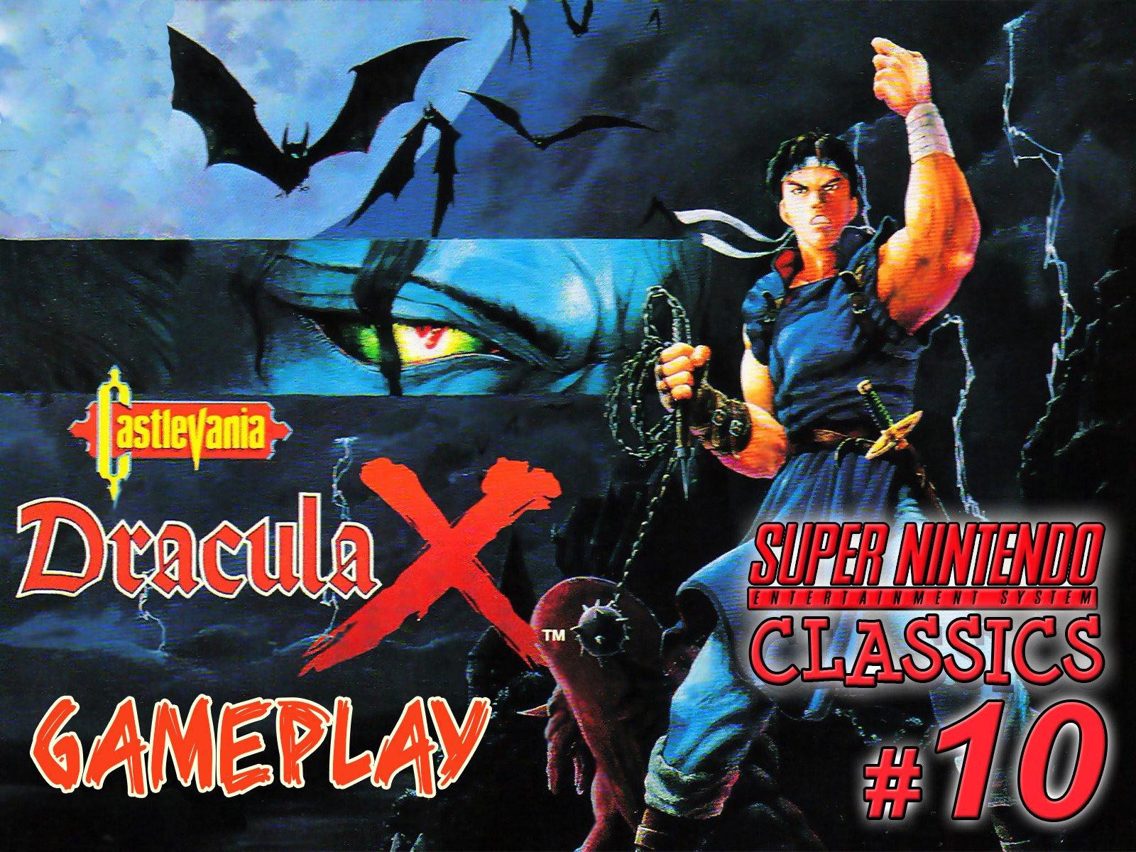 Clip: Castlevania Dracula X Gameplay (SNES Classics 10) - Season 1