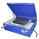 INTBUYING UV Exposure Unit for Silk Screen Printing Light Box 20x24 Inches 110V (Color: blue, Tamaño: 20x24 Inches Exposure Area)