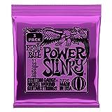Ernie Ball Power Slinky Nickel Wound Sets, .011 - .048 (3 Pack)
