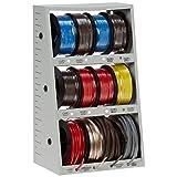43111 12-Spool Automotive Wire Assortment with Steel Rack (D132) (Color: Multi, Tamaño: Multi)