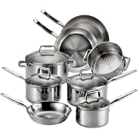 T-fal 12-Piece Stainless Steel Cookware Set