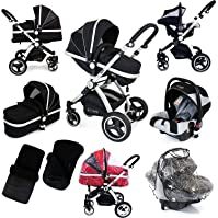 i-Safe System - Black Grey Travel System