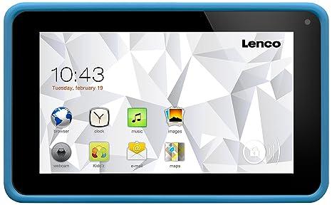 Lenco CoolTab-74 bleue