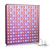 Roleadro LED Grow Light, 45w Plant Growing Lights grow Lamps Panel with Red&Blue Spectrum for Indoor Plants, Hydroponic, Greenhouse, Succulents, Flower, Seedling Growing (Color: Silver, Tamaño: 1pcs)