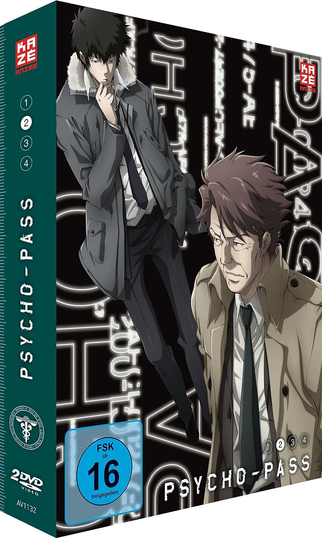 Psycho-Pass, DVD