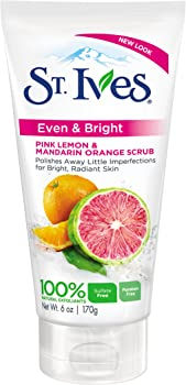 St. Ives Even & Bright Pink Lemon Facial Scrub
