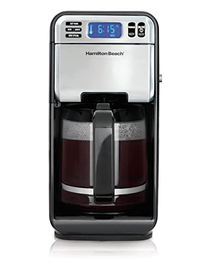 Hamilton Beach 12-Cup Digital Coffee Maker Stainless Steel