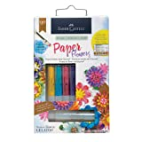 Faber-Castell Paper Flowers Kit - Paper Flowers and Gelatos Kit (Color: Paper Flowers Kit)