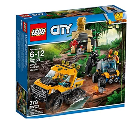 LEGO - 60159 - City - Jeu de Construction - L'excursion dans la jungle