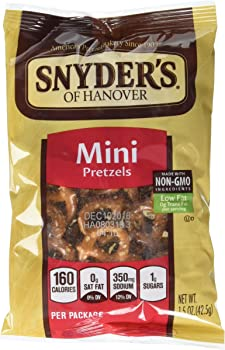 48-Pk. Snyders of Hanover Mini Pretzels