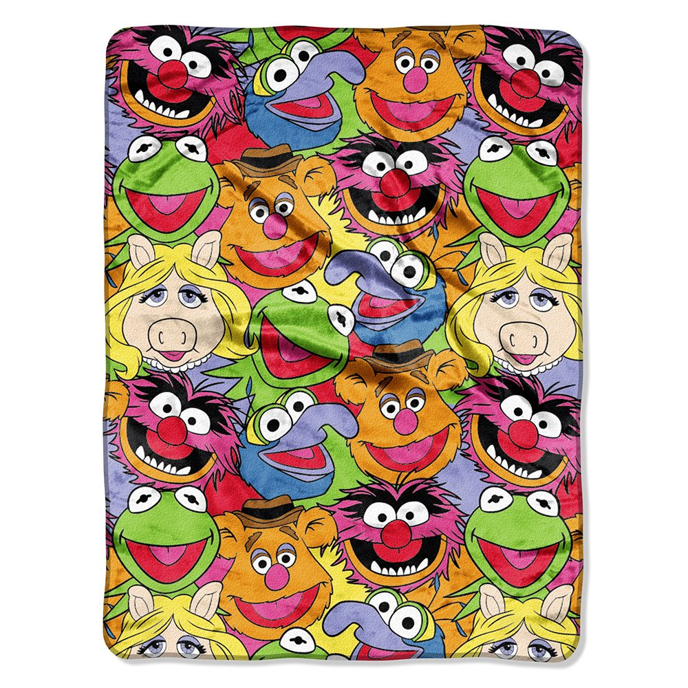 Muppets Characters Blanket Gift for People Who Love Disney