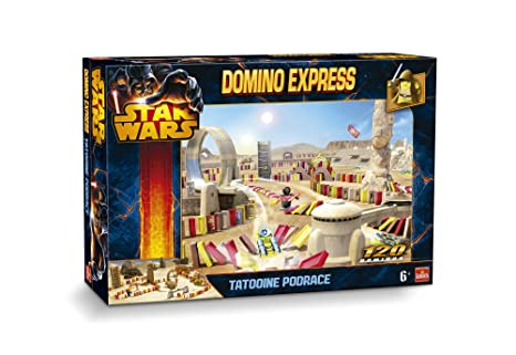 Goliath - 80981.004 - Jeu d'action et de Réflexe - Domino Express Racing - Star Wars