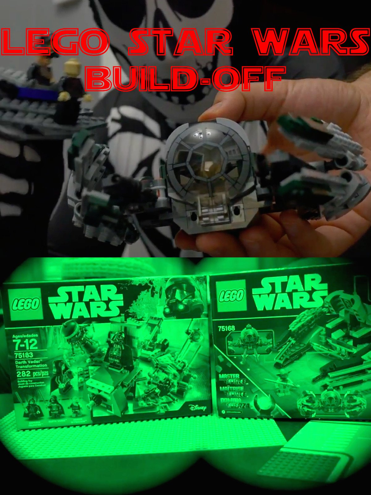 Clip: Lego Star Wars Build-Off