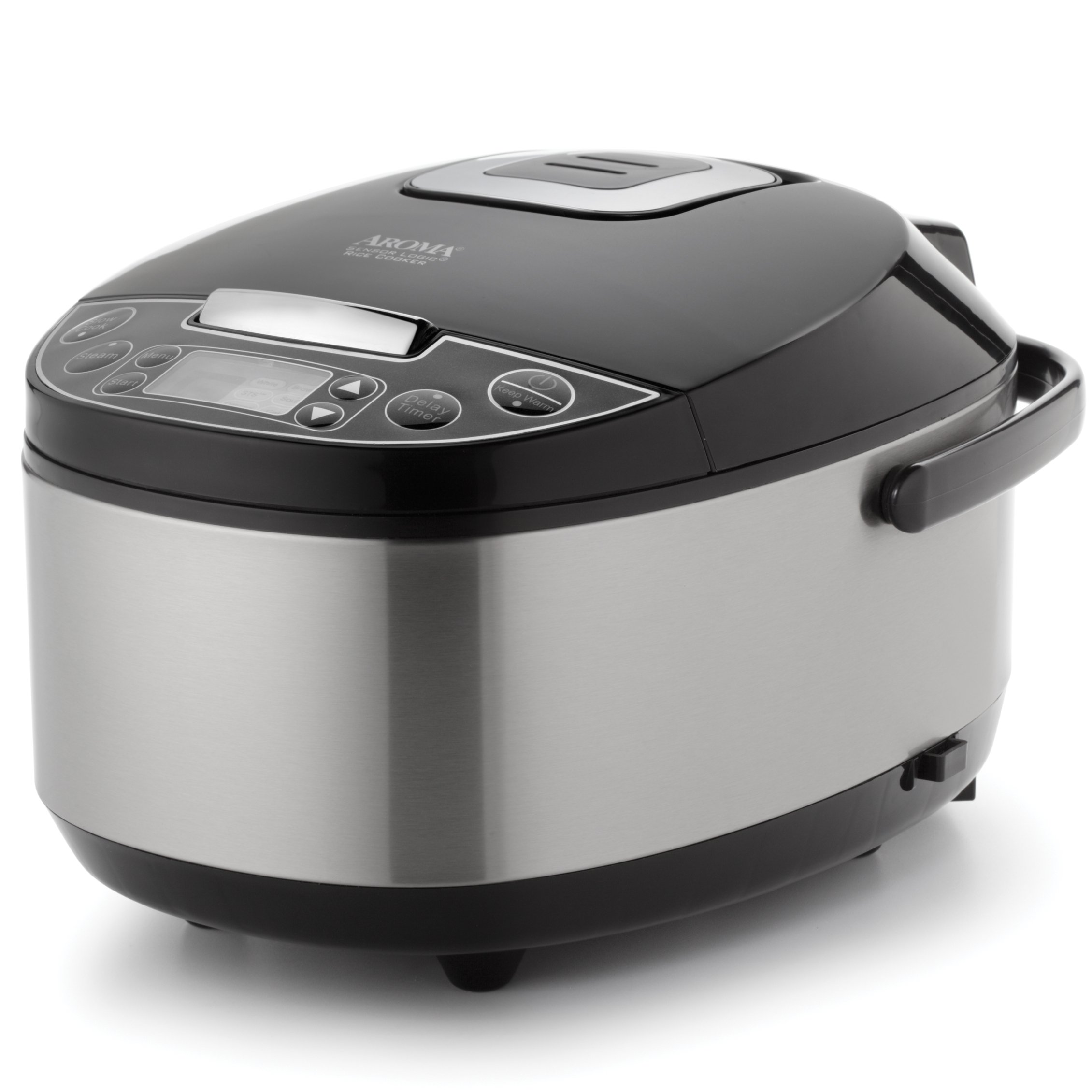 aroma professional 20 cup cooked 10 cup uncooked rice cooker food steame. Black Bedroom Furniture Sets. Home Design Ideas