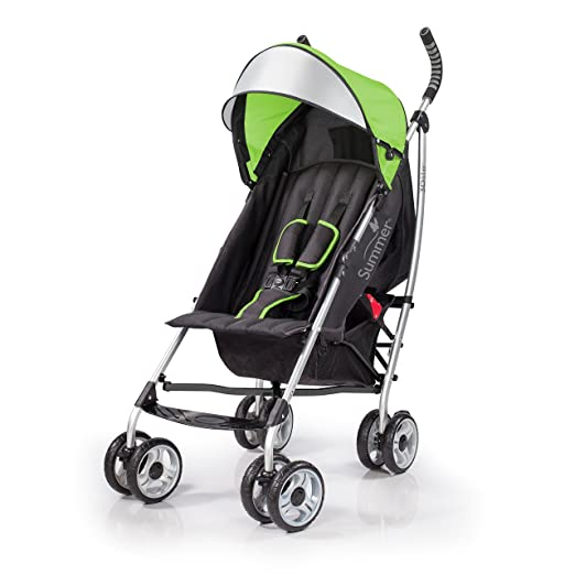 Summer Infant 2015 3D Lite Convenience Stroller, Tropical Green