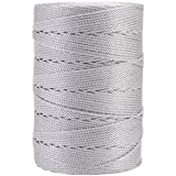 Iris 18-476 Nylon Crochet Thread, 197-Yard, Gray