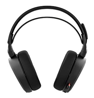 SteelSeries Arctis 7 Lag-Free Wireless Gaming Headset with DTS Headphone:X 7.1 Surround for PC, Playstation 4, VR, Mac and Wired for Nintendo Switch, Android and iOS - Black (Color: Black)