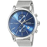 Hugo Boss JET Mesh 1513441 Mens Chronograph Design Highlight (Color: blue)