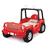 Little Tikes Jeep Wrangler Toddler To Twin Bed (Color: Red)