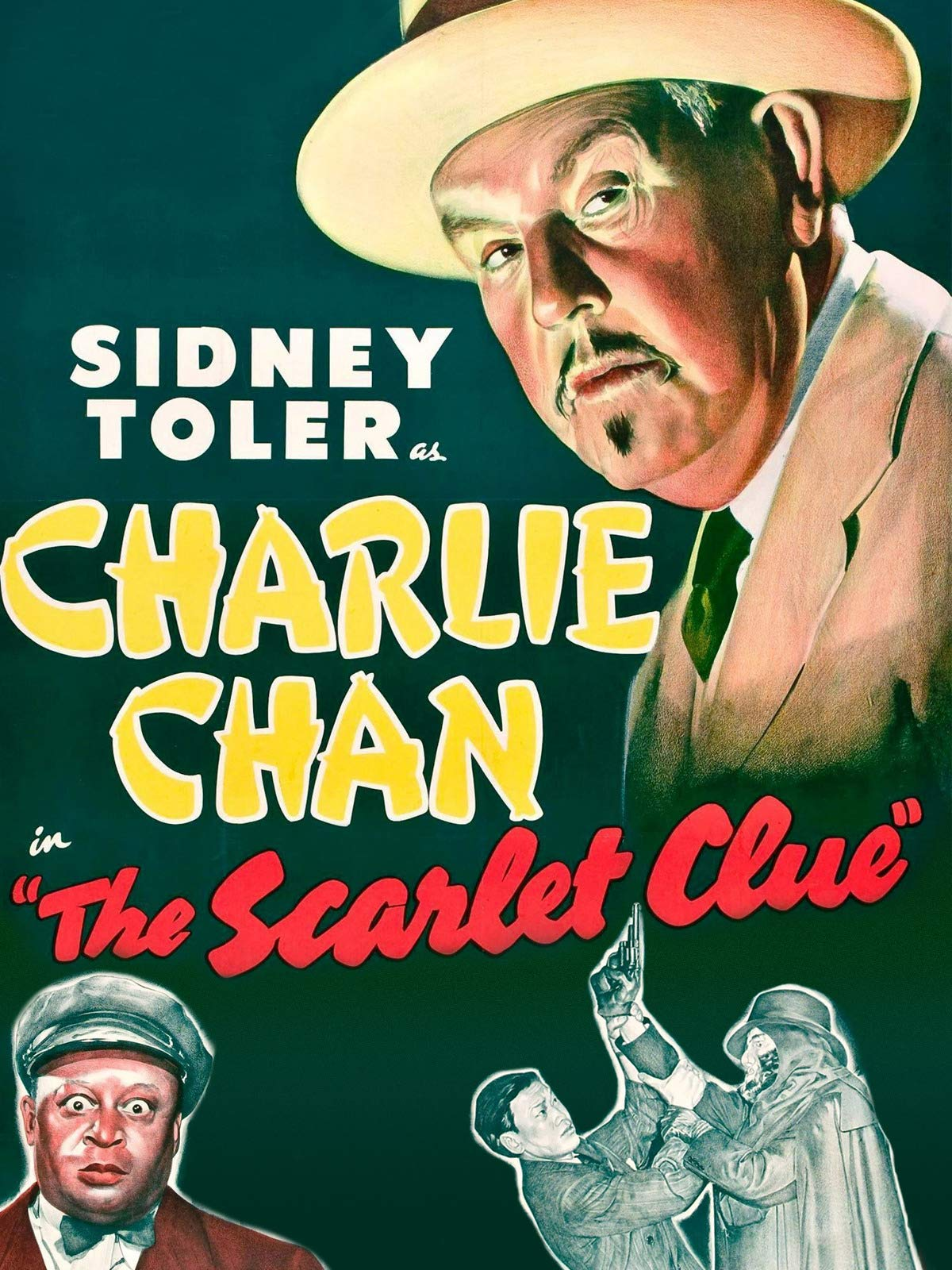 The Scarlet Clue - Sidney Toler As Charlie Chan