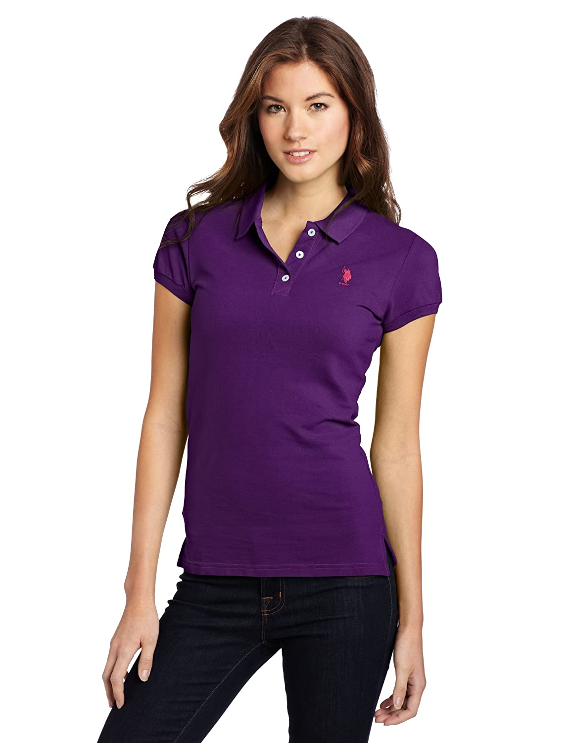 US Polo Assn. Juniors Solid Polo With Small Pony $12.99