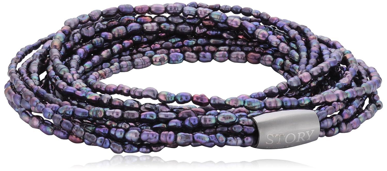 Story Armband lilla Perle 57 cm 1304751-57 als Geschenk