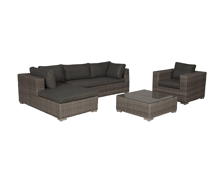 Garden Impressions Chaise Lounge Set Köln, Organic Grey, 4-teilig online bestellen