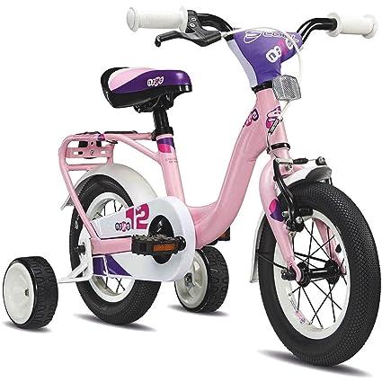 s'cool niXe 12 - Vélo enfant - rose/blanc 2015