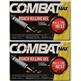 Combat Roach Killer Gel - 30 Gm (Pack of 2) (Tamaño: Pack of 2)