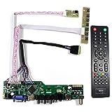 HDMI VGA CVBS USB RF +Audio LCD Controller Board Work For 15.6' 17.3