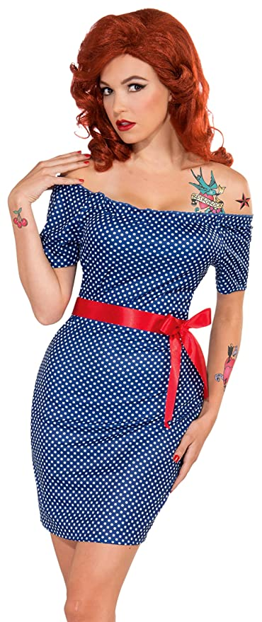 Forum Novelties Women's Retro Rock Betty Blue Costume