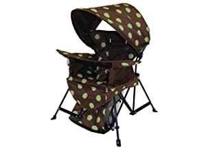 Kelsyus Go With Me Chair, Brown/Green