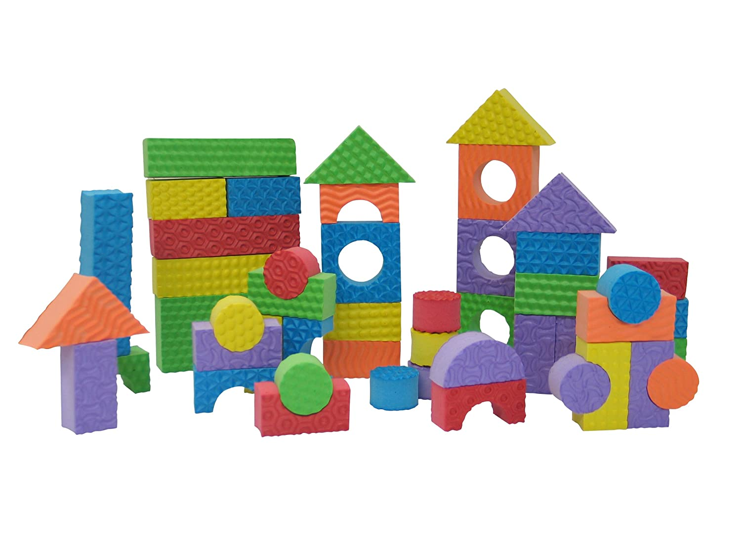 Shape fun themed printables and activities for Foam blocks for building houses